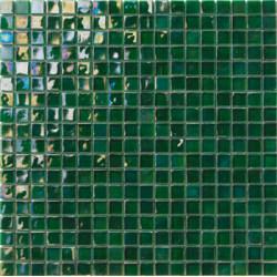 Mosaïque pâte de verre Perle Verde S. 1,5x1,5cm PE.0H76