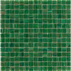 Mosaïque pâte de verre Aurore Verde Erba 2x2cm AU.0F68