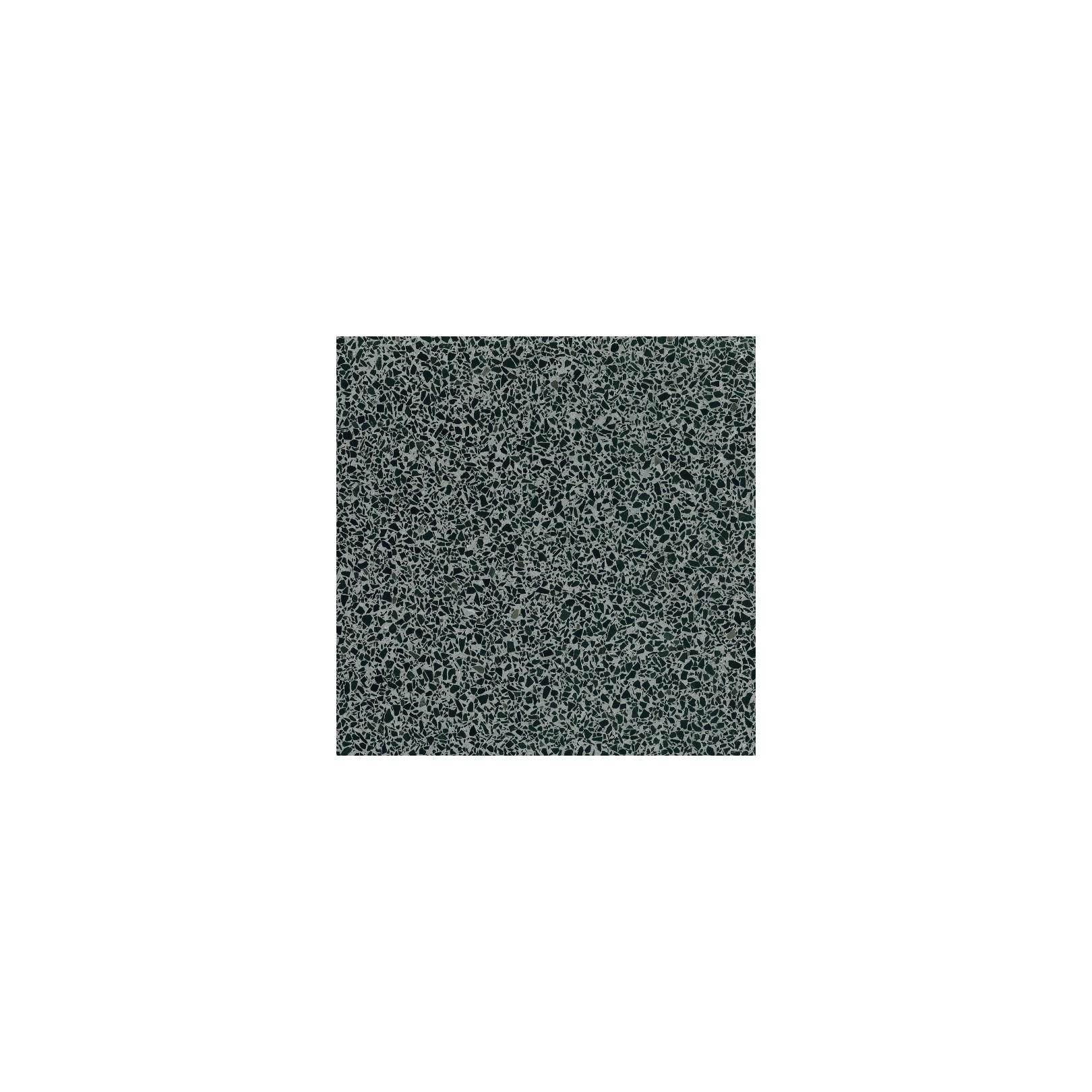 Carreau Terrazzo fond gris inclusions noir foncé Basel (6 formats)