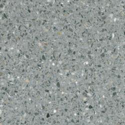 Carreau Terrazzo fond gris inclusions multicolores Gralo (6 formats)