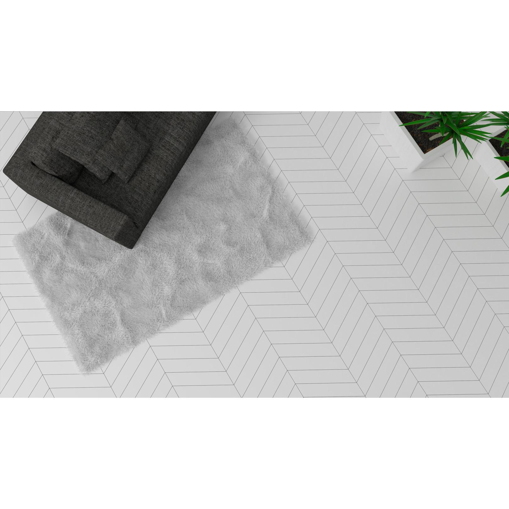 Carrelage gr s c rame chevron floor effet graphique 3 for Carrelage graphique