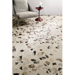 Carrelage grès cérame effet Terrazzo I Cocci Spaccato (2 formats, 4 couleurs)