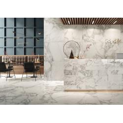 Carrelage grès cérame effet marbre Prestige Arabescato Effect (12 formats, 2 finitions)