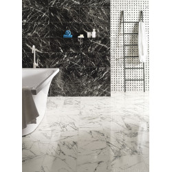 Carrelage grès cérame effet marbre Prestige Carnico Effect (12 formats, 2 finitions)