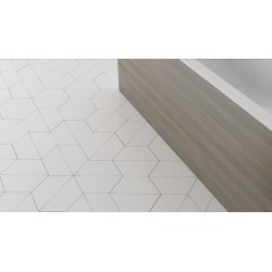 Carrelage grès cérame Trapez Floor effet graphique (3 couleurs)