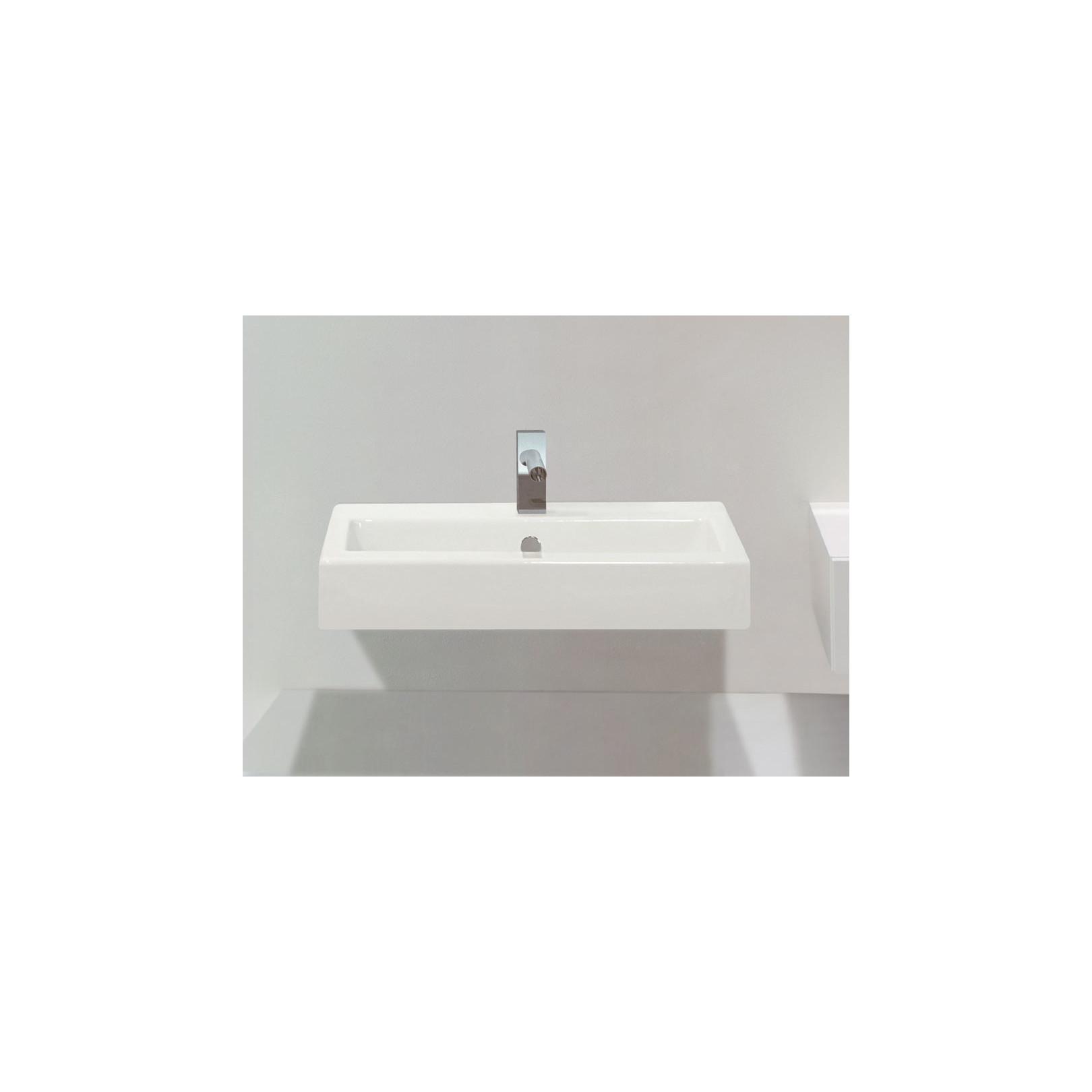 Vasque Quad 47x60ou80cm, à poser ou à suspendre
