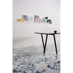 Carrelage grès cérame effet marbre Pulp (5 couleurs, 5 formats, 3 finitions)