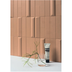 Carrelage grès cérame effet Biscuit 20x5cm (4 couleurs, 6 formats)