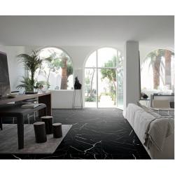 Carrelage grès cérame effet marbre Mate Marmo (6 formats, 2 couleurs)