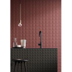 Carrelage grès cérame effet ciment graphique Block (7 couleurs, 2 formats)