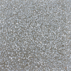 Carreau Terrazzo uni gris moyen TU29, 20x20cm