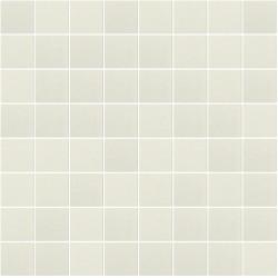 Mosaïque Stone carré 3,8x3,8cm crème 568 sur trame nylon 33,3x33,3cm