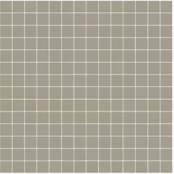 Mosaïque Stone carré 2,3x2,3cm amande 560 sur trame nylon 33,3x33,3cm