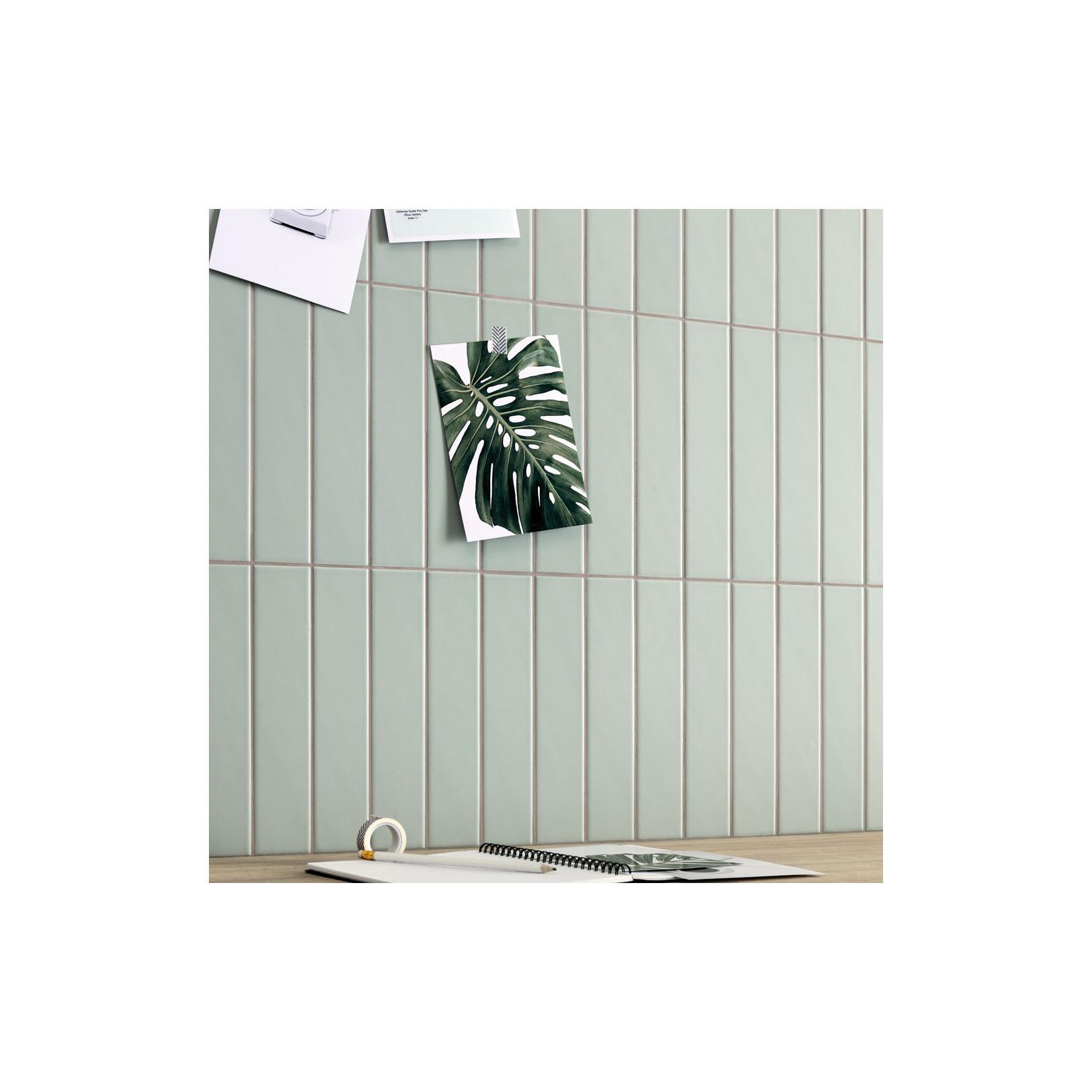 Carrelage grès cérame Genesi Wall 25x5cm (7 couleurs)
