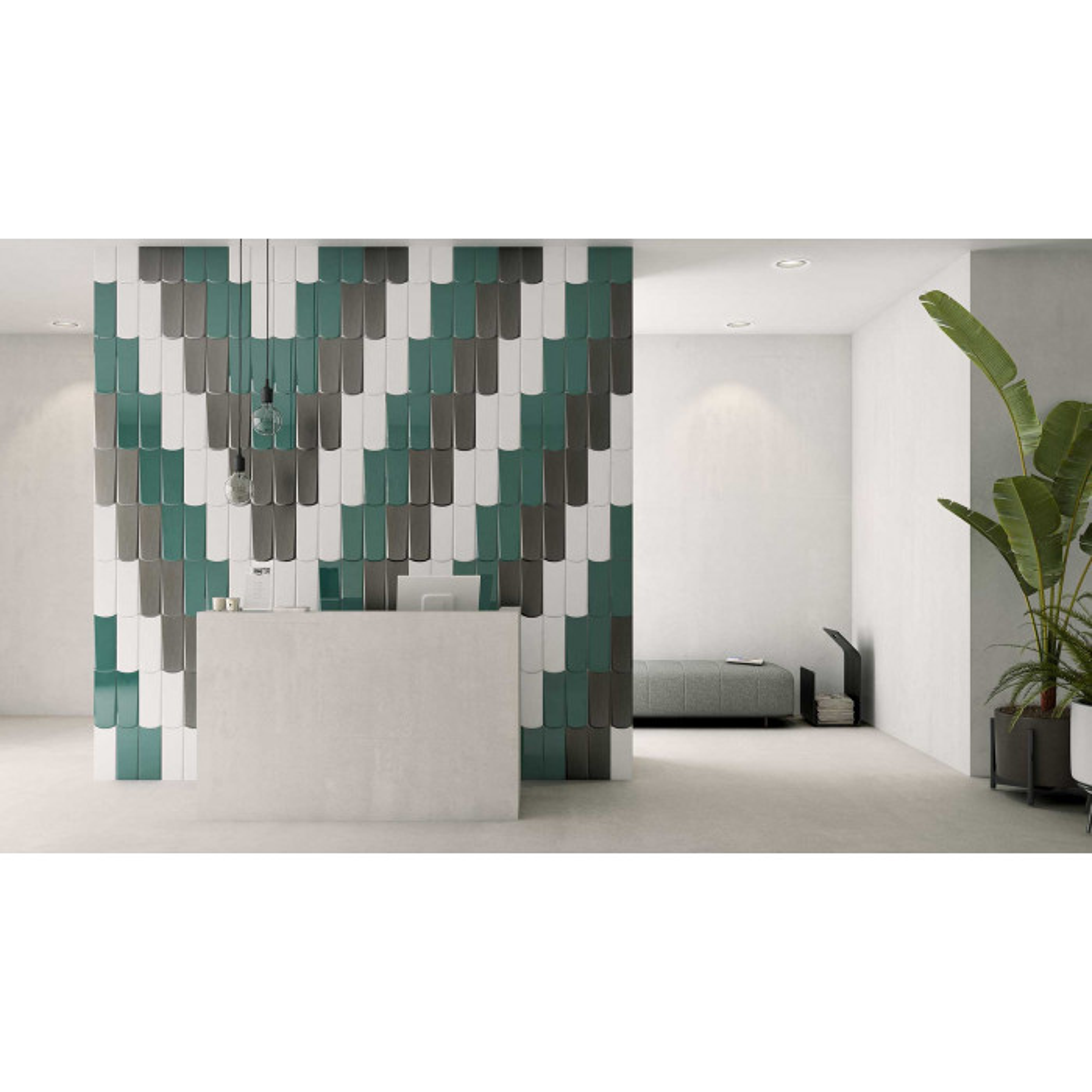 Carrelage mural faïence Boho Tear 25x10cm (7 couleurs + un décor)