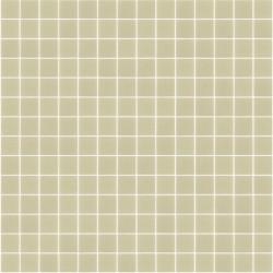 Mosaïque Unicolor 2,3x2,3cm blanc 103 mat ou brillant ou antidérapant sur trame nylon 33,3x33,3cm