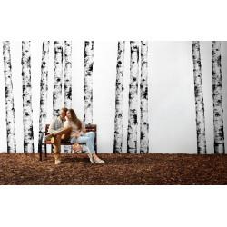 Carrelage grès cérame effet papier peint Wonderwalll Ritmi