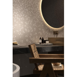 Carrelage grès cérame effet papier peint Wonderwalll Zen