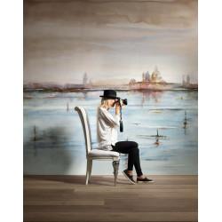 Carrelage grès cérame effet papier peint Wonderwall Venice