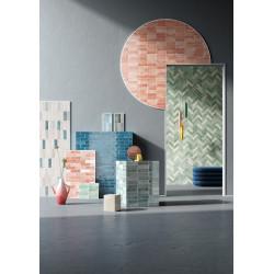 Carrelage mural faïence T Brick 16x5,2cm (12 couleurs)