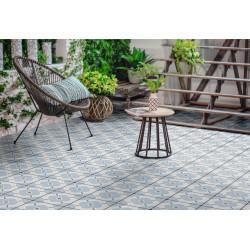 Carrelage Grès cérame effet graphique carreau ciment Ponti Prescored (2 couleurs, 1 format)