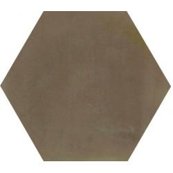 Ciment coloré Hexagone uni vert HU22