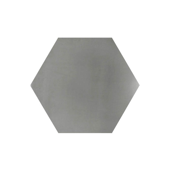Carreau de ciment color hexagone uni gris hu27 casalux for Carrelage losange