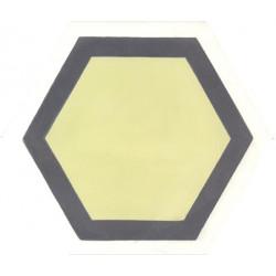 Carreau de ciment coloré Hexagone motif GALA2 01.21.10