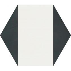 Carreau de ciment coloré Hexagone motif CLOVIS A 01.10