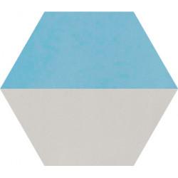 Carreau de ciment coloré Hexagone motif THEO A.07.15