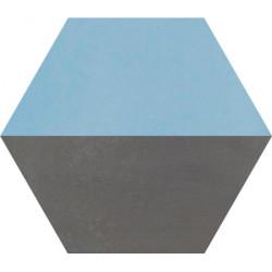 Carreau de ciment coloré Hexagone motif THEO A.15.32