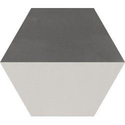 Carreau de ciment coloré Hexagone motif THEO A 32.07