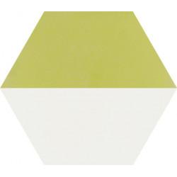 Carreau de ciment coloré Hexagone motif THEO A 21.10