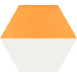 Carreau de ciment coloré Hexagone motif THEO A.13.10