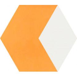 Carreau de ciment coloré Hexagone motif THEO B.13.10