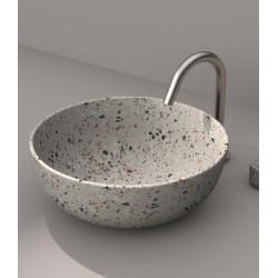 Lavabo, vasque Terrazzo Beige diam. 40cm ronde