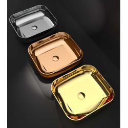 Lavabo vasque Shiny Sink 45x40cm rectangle (3 couleurs)