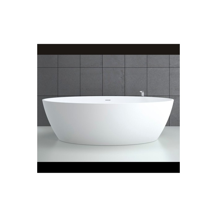 Baignoire Ilot Space 180x85cm En Solid Surface Equivalent Corian Casalux Home Design