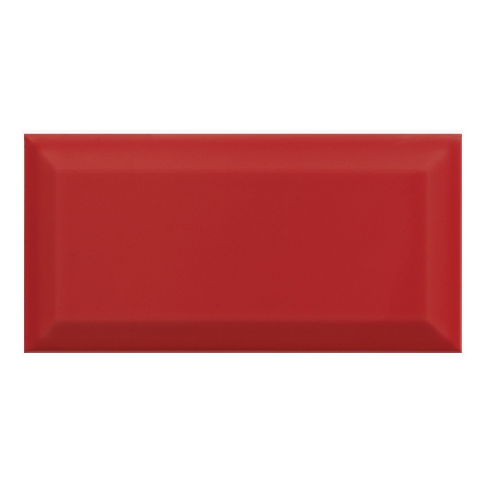 Carrelage mural faience carreau metro bissel 10x20cm 5 for Carrelage mural rouge