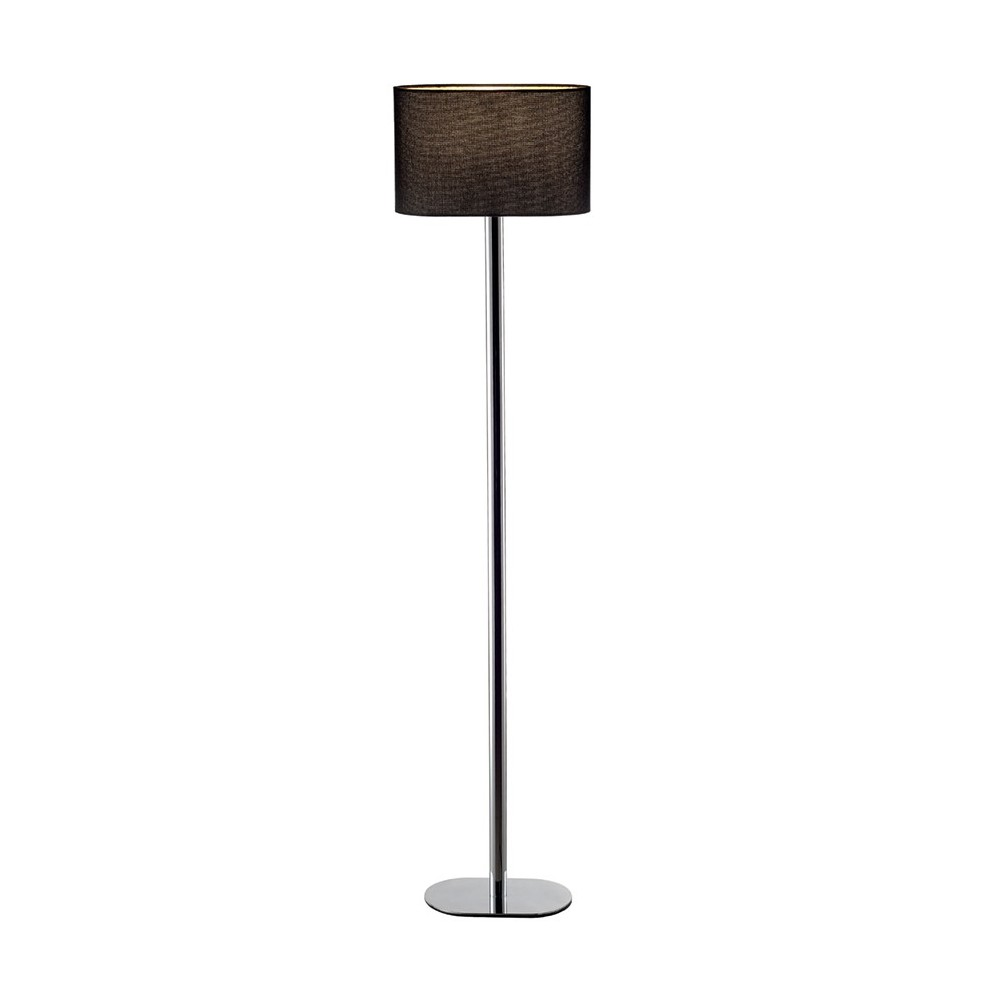 lampadaire lampe sur pied soprana oval sl 1 noir ou blanc casalux home design. Black Bedroom Furniture Sets. Home Design Ideas