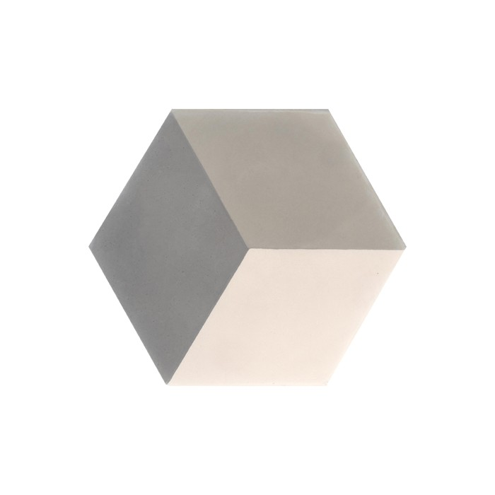 carreau de ciment color hexagone motif cube 3d. Black Bedroom Furniture Sets. Home Design Ideas