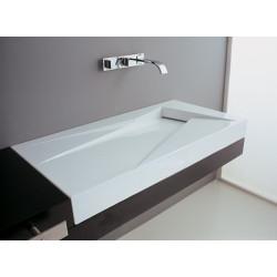 Vasque à poser ou à suspendre Oz 47x95cm