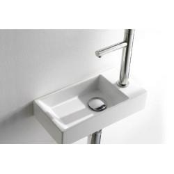 Lave Main Acquafredda Rectangular 17,5x35cm, à poser ou à suspendre