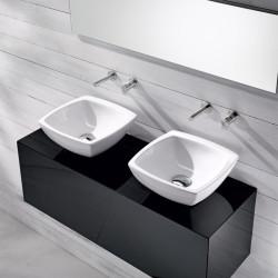 Lavabo, vasque Spot Bag 1 à poser, 33,5x33,5cm