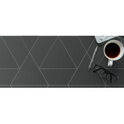 Carrelage grès cérame effet graphique Floor Triangle (3 couleurs)