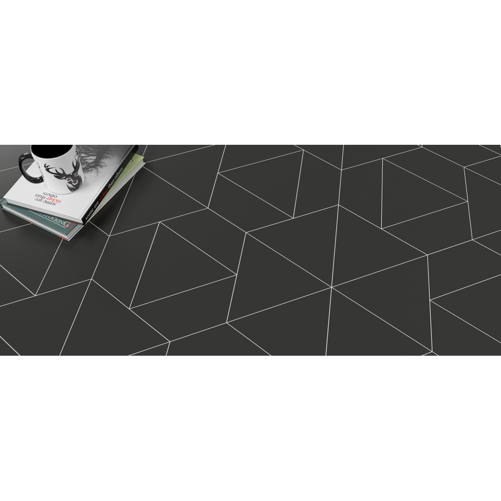 carrelage gr s c rame triangle floor effet graphique 3 couleurs casalux home design. Black Bedroom Furniture Sets. Home Design Ideas