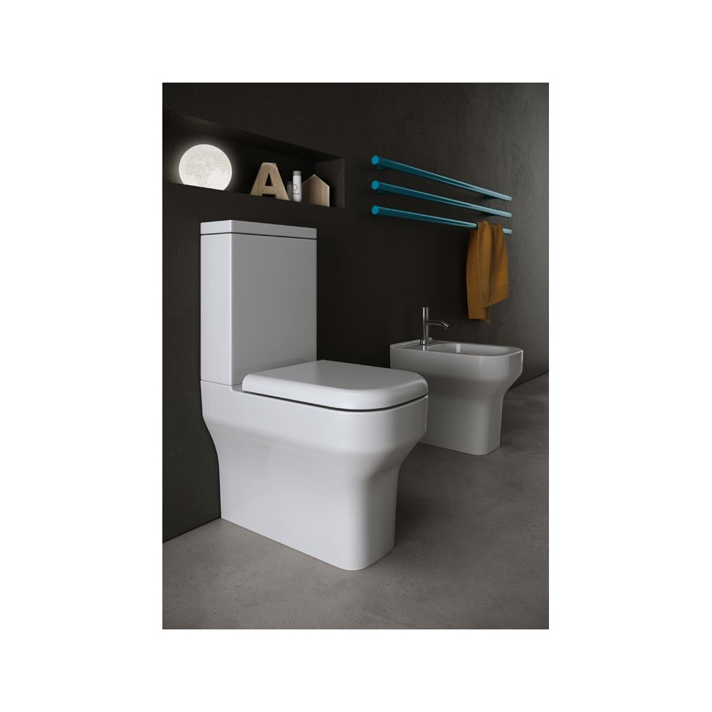 wc monobloc synthesis 62x36cm avec abattant casalux home. Black Bedroom Furniture Sets. Home Design Ideas