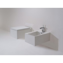 WC suspendu Oz 52x34cm avec abattant