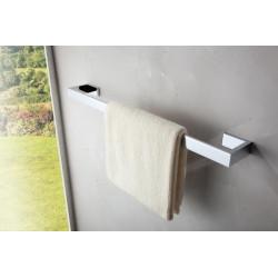 Barre, porte serviette 60cm laiton chromé 4602600, série460