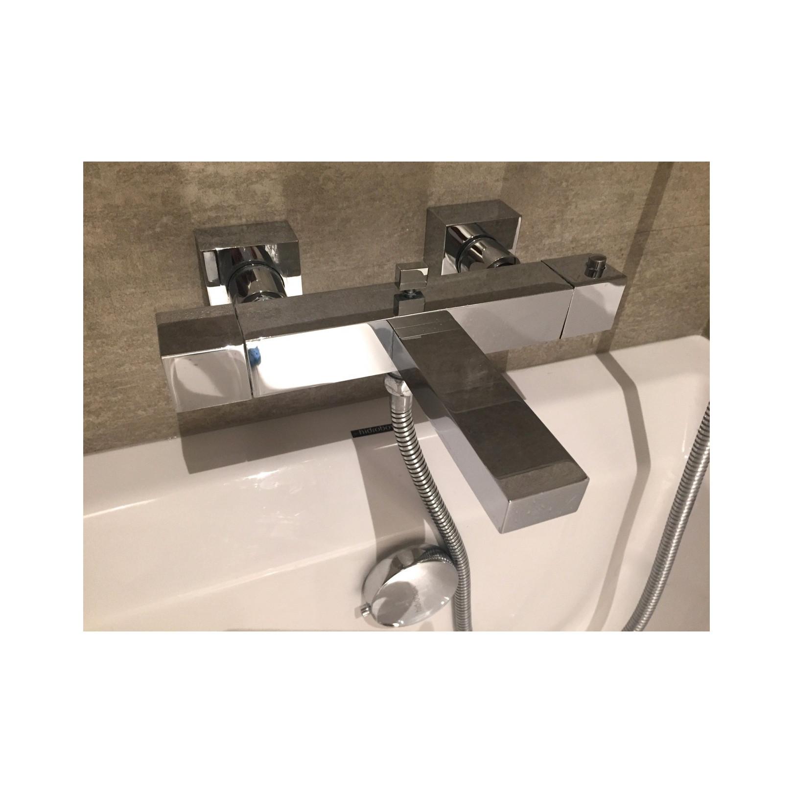Robinet thermostatique inverseur baignoire 1603100 mural (non encastré) avec écoulement bain et sortie douchette, série160